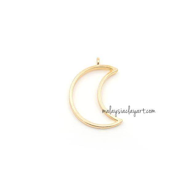1 x DIY Moon Shape Setting Design Frame