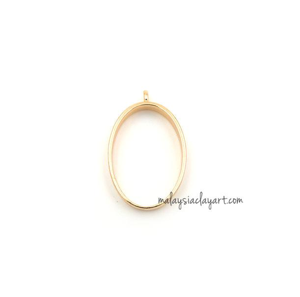 1 x DIY Oval Shape Setting Design Frame