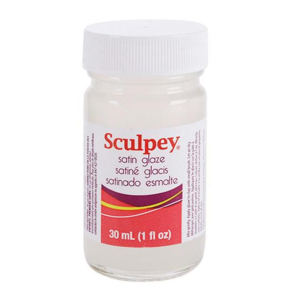 Sculpey Glaze New Formula Satin (30ml)