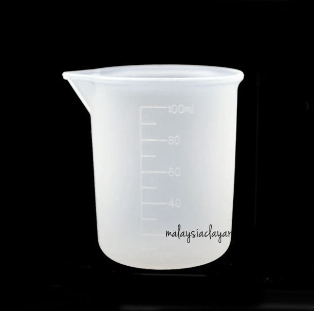 100ml Silicone Mixing Cup Reusable For Mixing