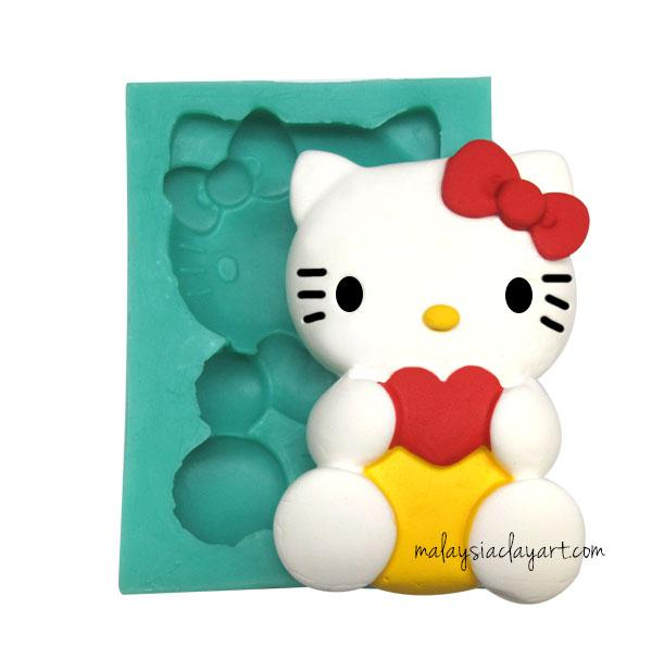 Hello Kitty Silicone Mold