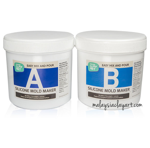 AB Liquid Food Grade Mold Maker Silicone (1kg)