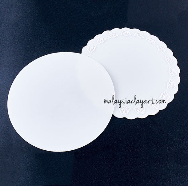 Round Silicone Sheet 3pcs - Reusable For Mixing