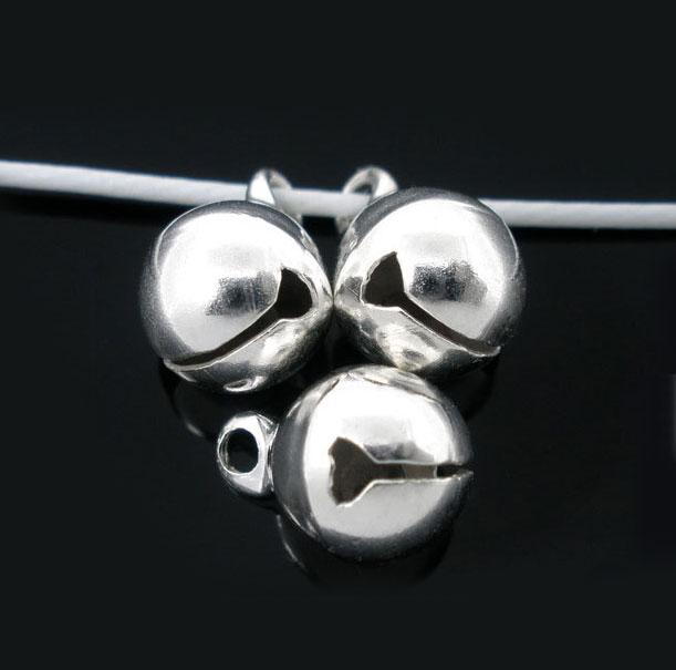 6mm Jingle Bell | Small Bells Silver (20 pcs in Pack)