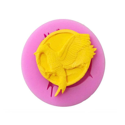 Mockingjay Hunger Game Silicone Mold