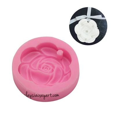 Rose Flower Fragrance Aromatherapy Silicone Mold
