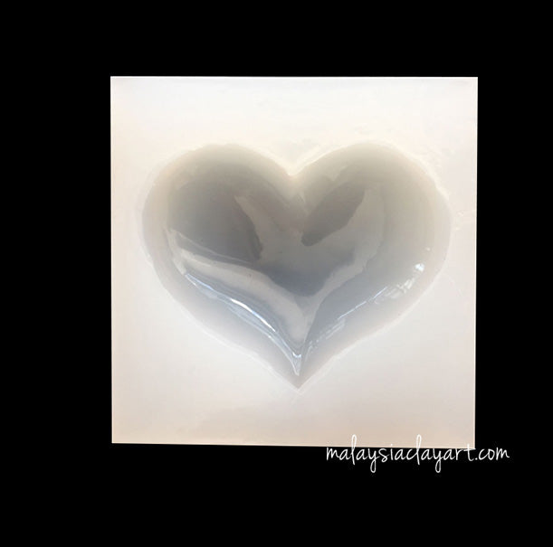 Heart High Gloss Silicone Mold