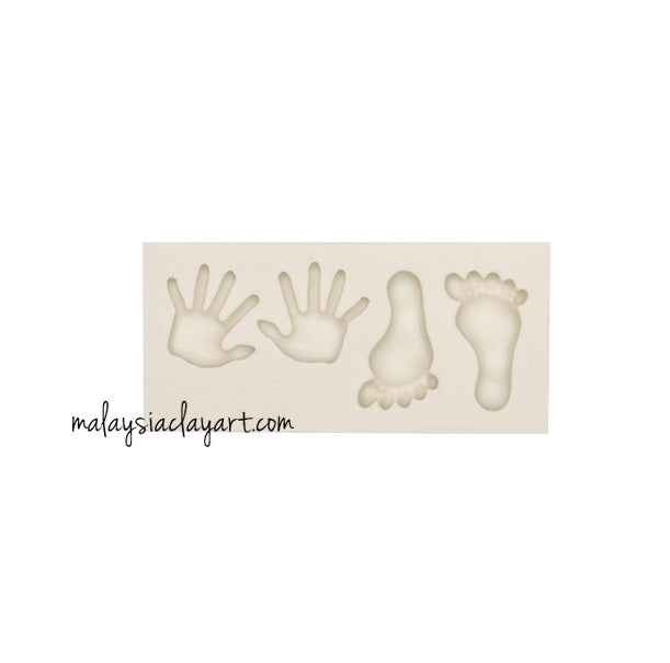 Tiny hand and foot Silicone Mold