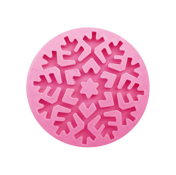 Snowflake Christmas Element Silicone Mold