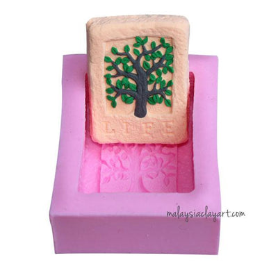 Life Tree Soap Silicone Mold