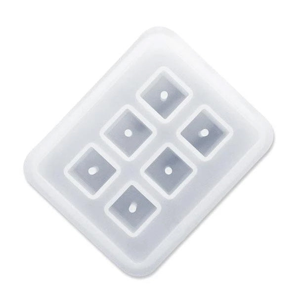 12mm Silicone Mold For Square Cube Beads