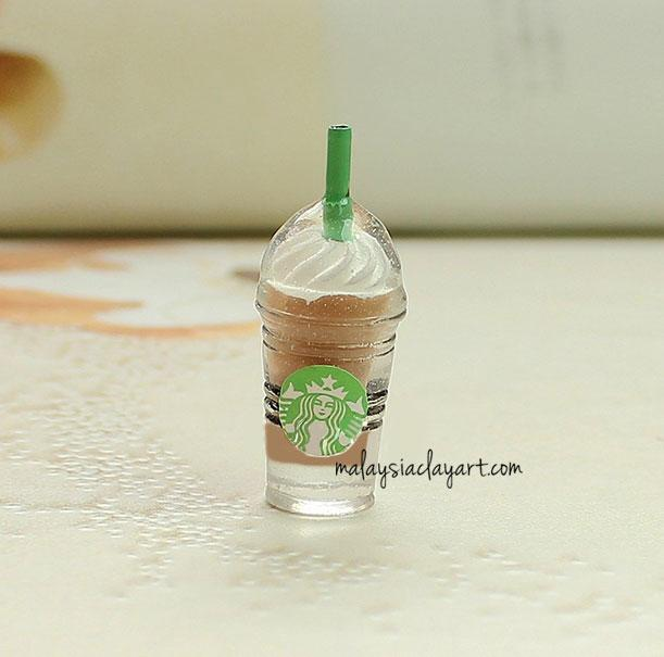 1 x Mini Coffee Chocolate Cream Starbucks Frappuccino Decoden | Cute Cabochons