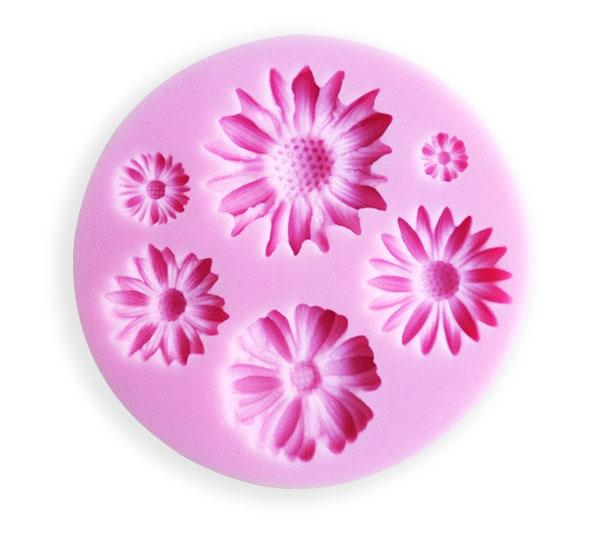 Sunflower Silicone mold - 6 Designs