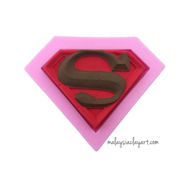Superman Silicone Mold
