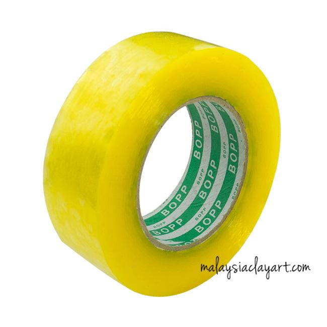 Transparent packing office tape