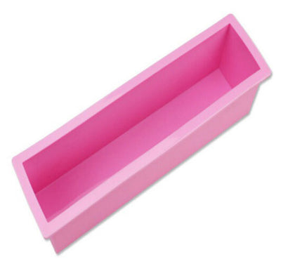 1200g Rectangle Soap Silicone Mold