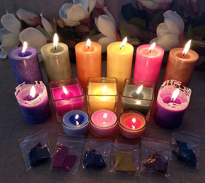 24 Colors Candle Dye Candle Coloring