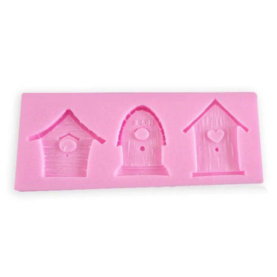 House Silicone Mold - 3 Designs