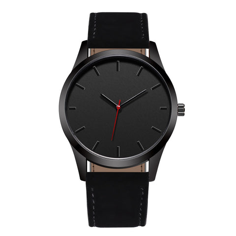 Luxury Minimalist Black Watch