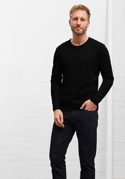 Men's Long Sleeve Tee Black
