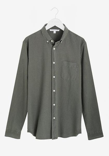 Men's Oxford Shirt Thyme Green