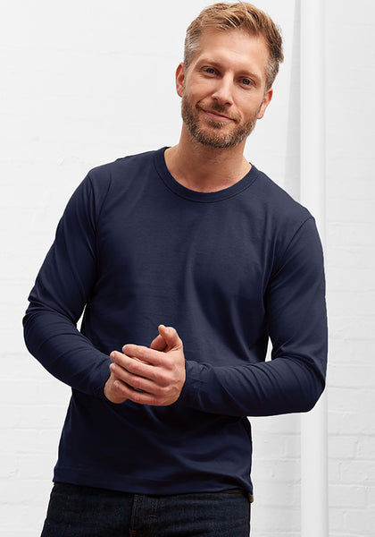 Men's Long Sleeve Tee Deep Navy