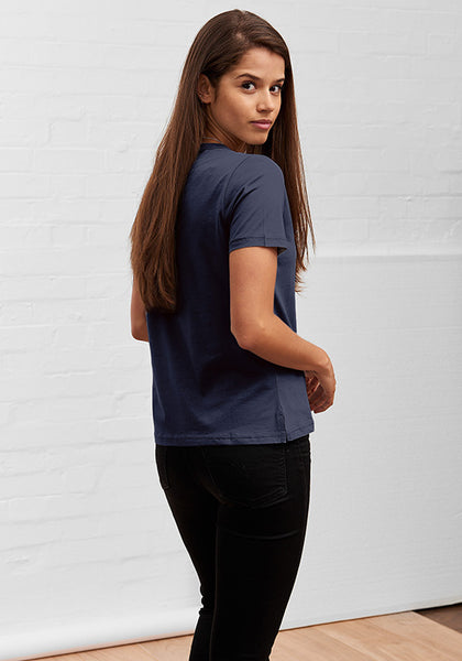 Women's Straight Cut Tee Deep Navy