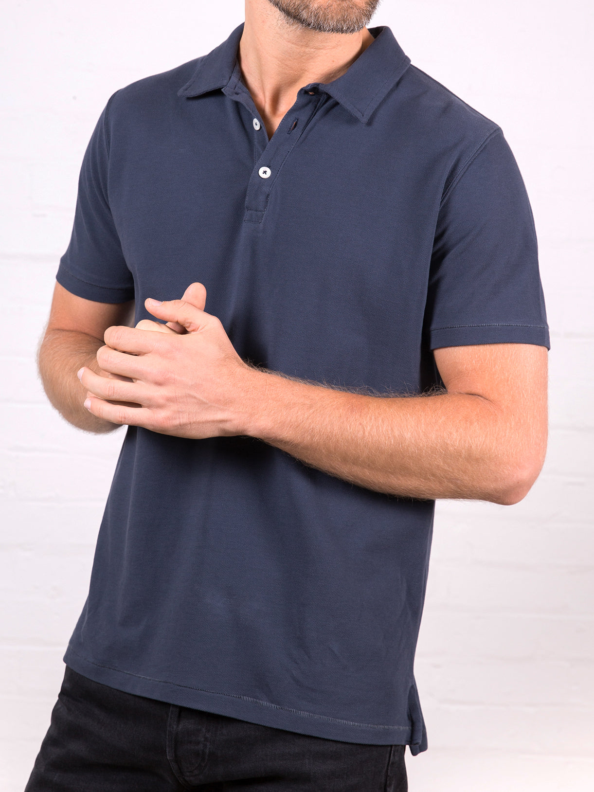 Men's Polo Shirt Navy