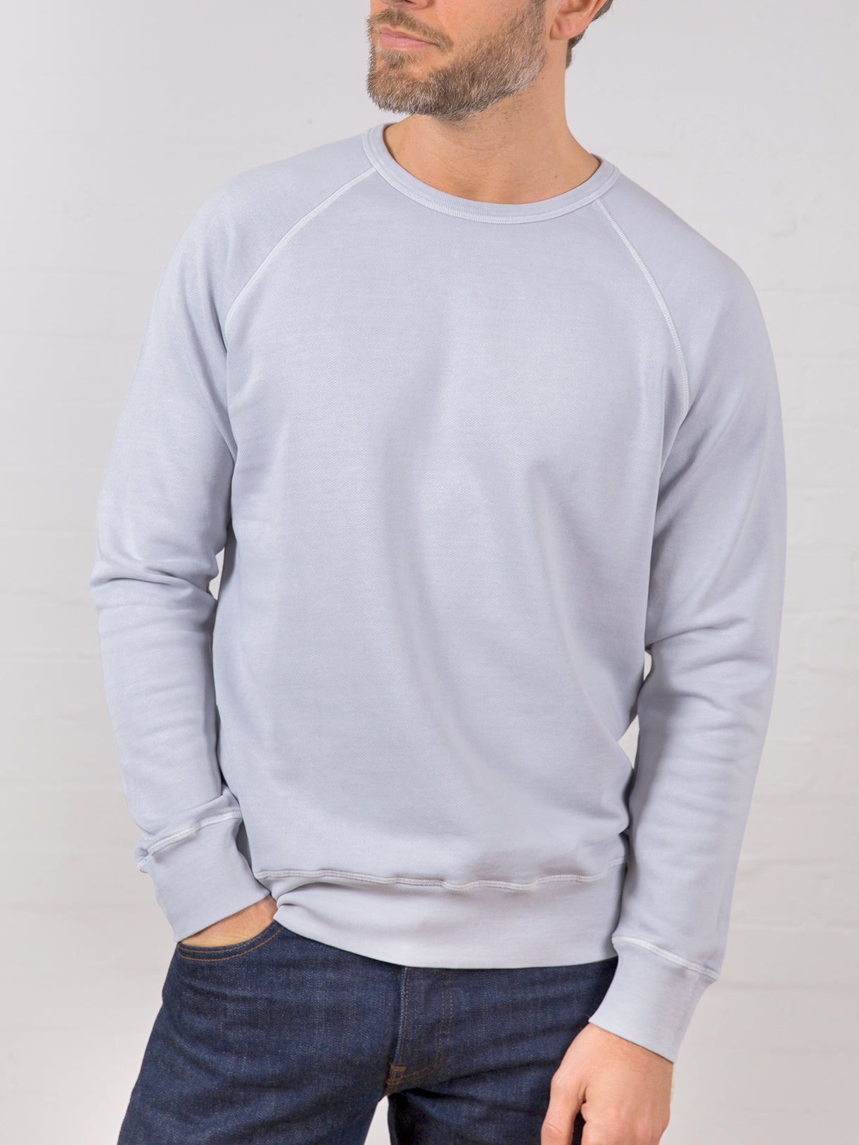 Men's Classic Sweatshirt Sharkskin Grey