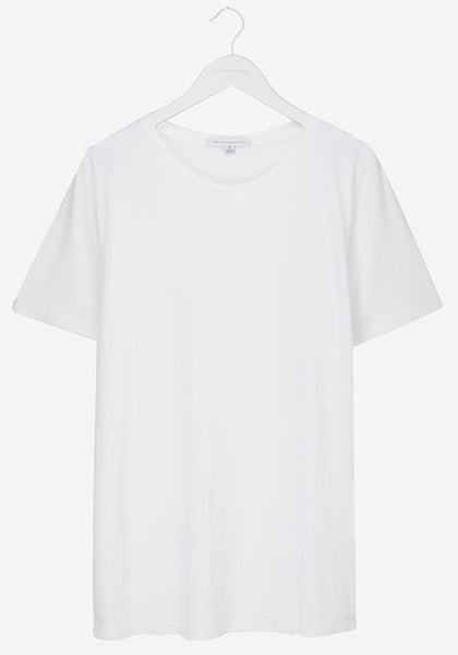 Pure White Supima Tee