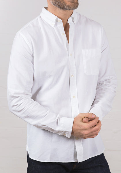 Men's Oxford Shirt White