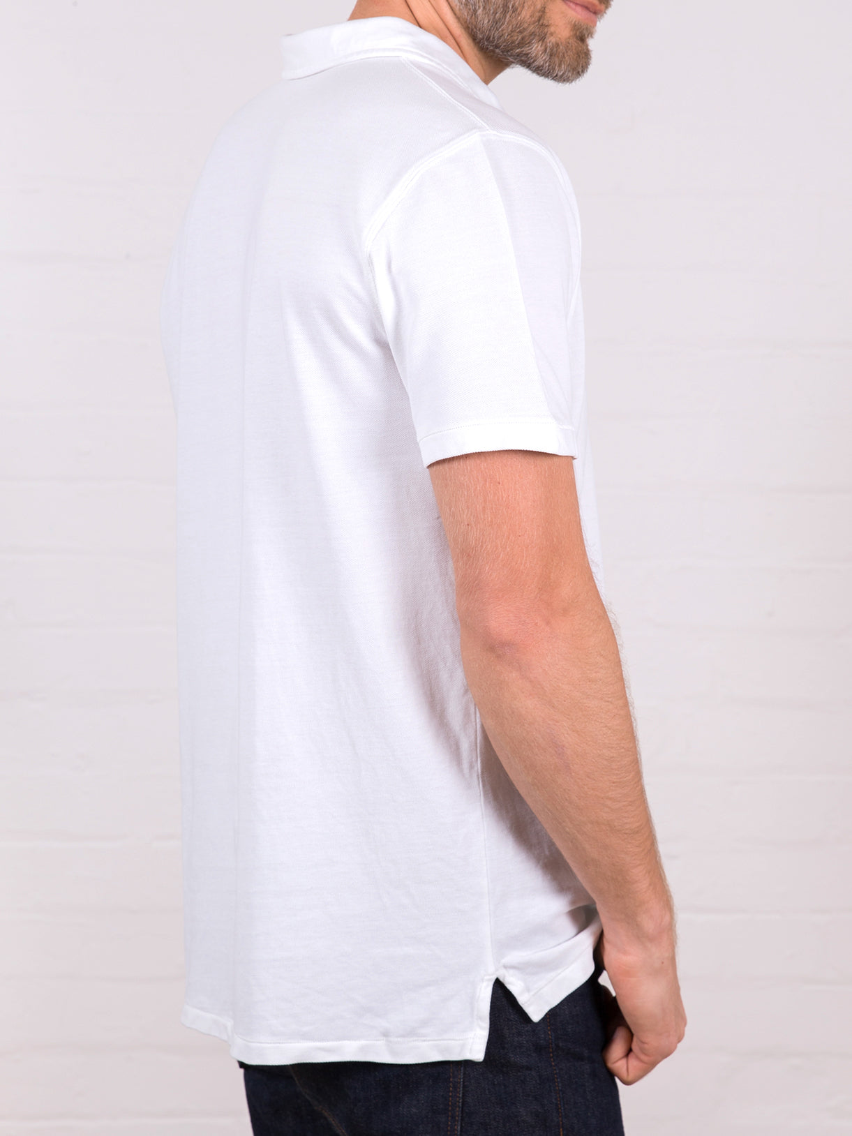 Men's Polo Shirt White