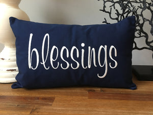 Blessings pillow