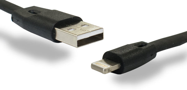 iPh 3ft Flat USB Cable