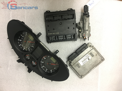 Seat Ibiza Used ECU Kit 03E 906 033 P 2002-2005 Engine code AZQ - Sancars Auto