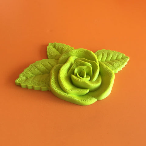 DIY 3d printed rose