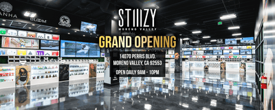 THE SECOND RETAIL LOCATION TO OPEN IN RIVERSIDE COUNTY: STIIIZY MORENO VALLEY