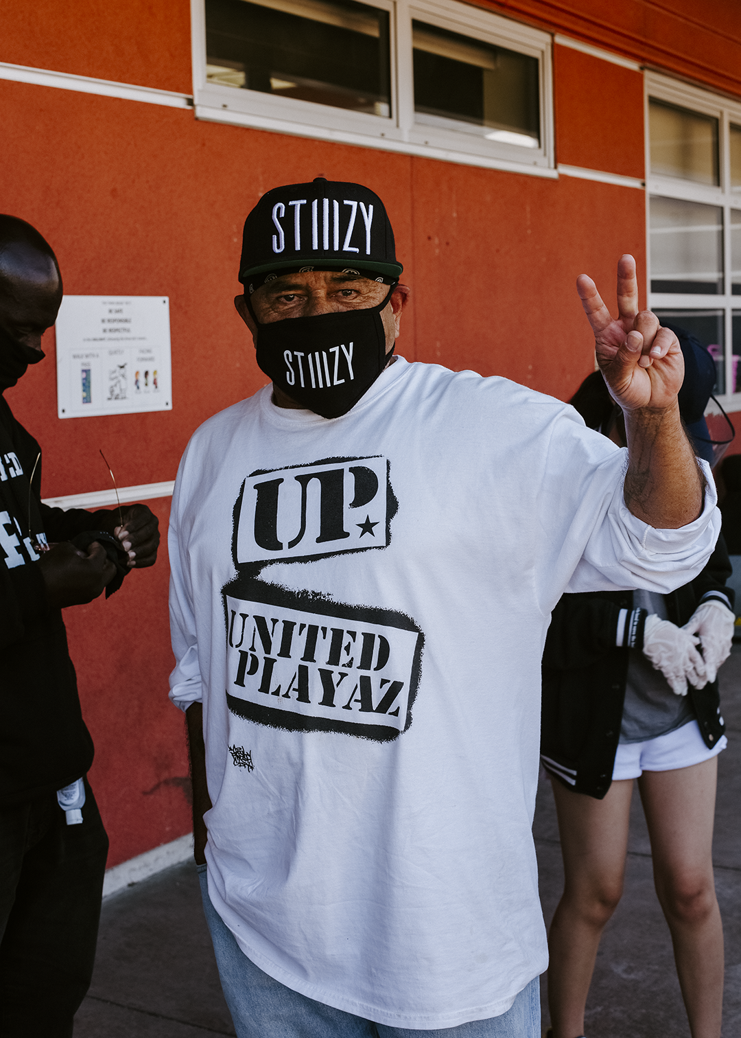 IT TAKES THE HOOD TO SAVE THE HOOD STIIIZY x UNITED PLAYAZ