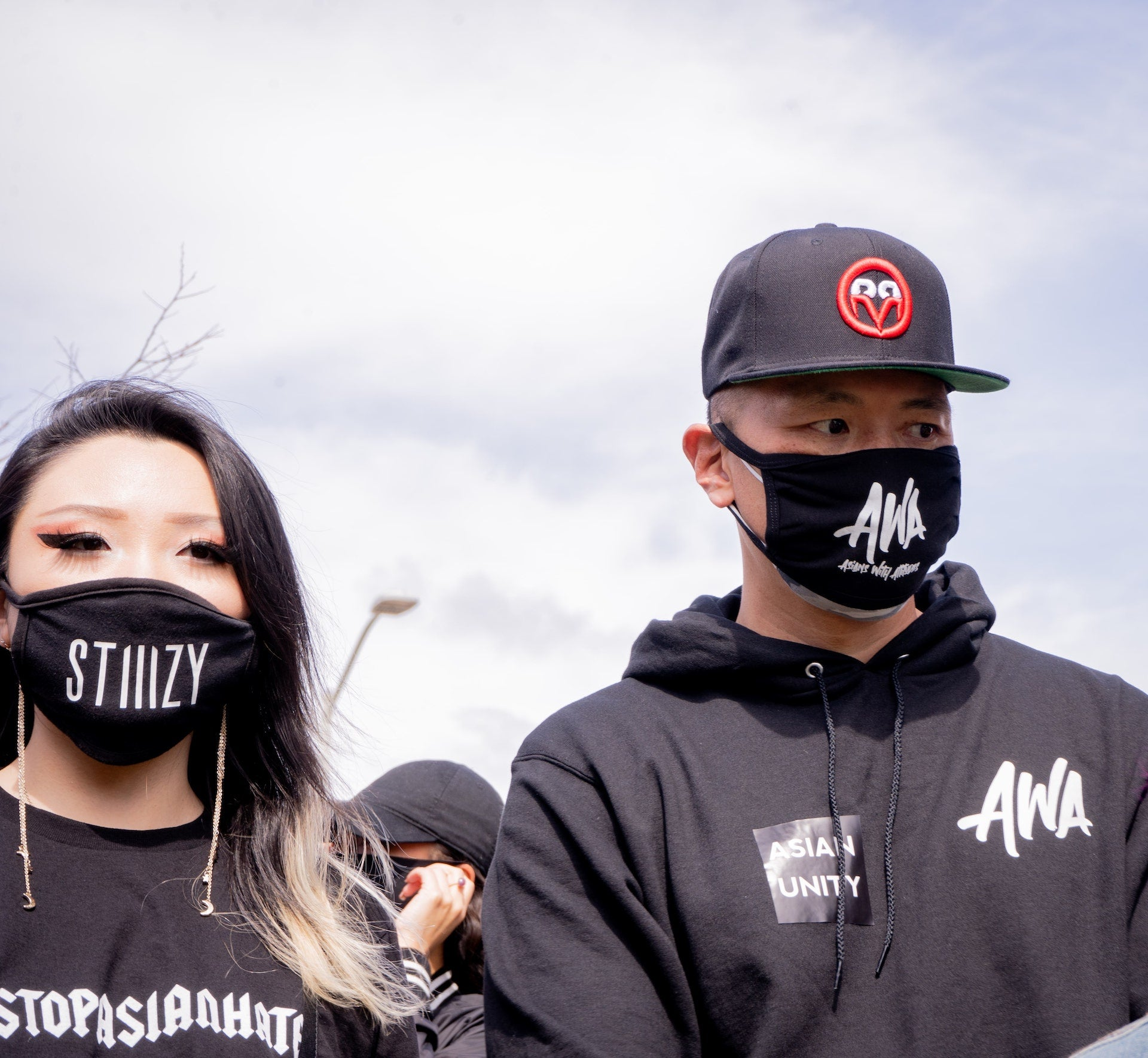 STIIIZY walks in solidarity with the AAPI community