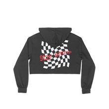 STIIIZY CROP TOP CHECKERED HOODIE