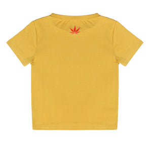 YELLOW STIIIZY CROP TOP