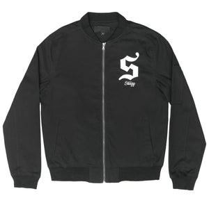 STIIIZY S APPLIQUE BOMBER JACKET