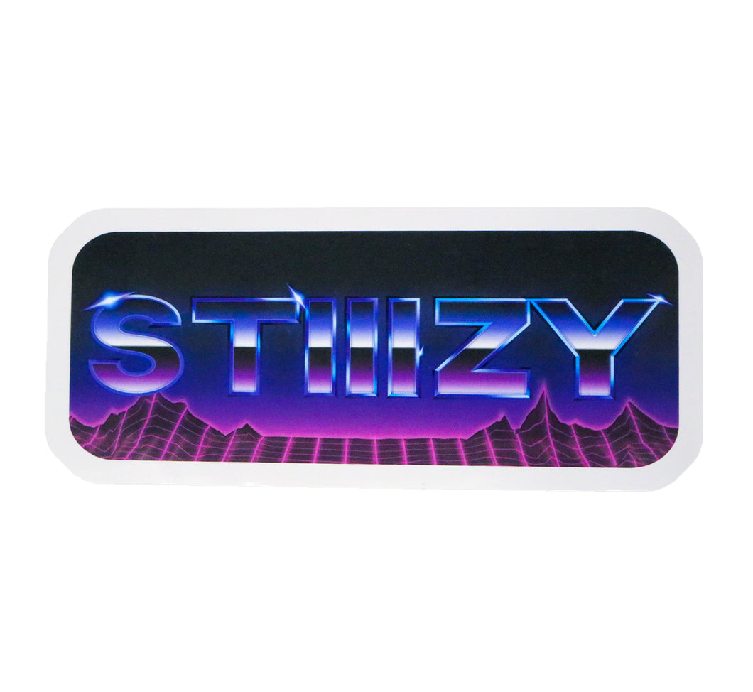 STIIIZY 80's STICKER