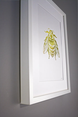 GOLD FOIL BUMBLE BEE