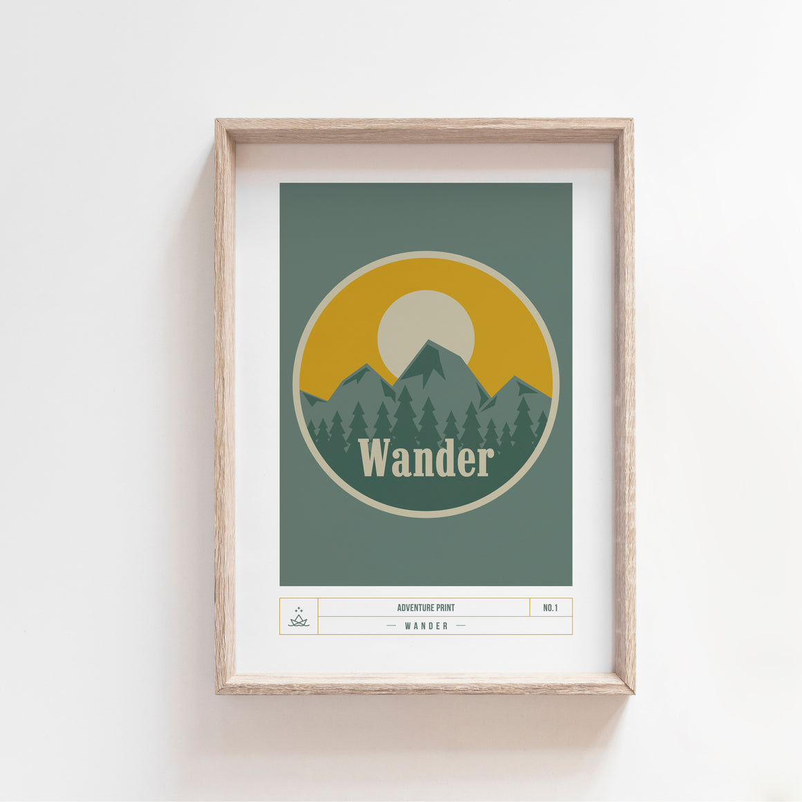 ADVENTURE PRINT NO1 - WANDER