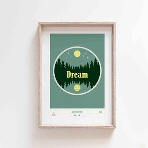 ADVENTURE PRINT NO2 - DREAM