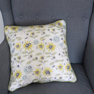 BUMBLEBEE & FLORA CUSHION
