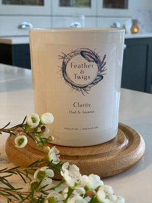 30cl F&T Candle - Clarity
