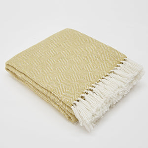 GOOSEBERRY/WHITE DIAMOND BLANKET