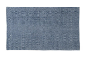 NAVY DIAMOND ECO RUG